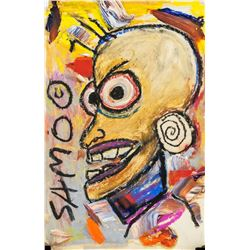 Jean-Michel Basquiat US Neo-Expressionist Mixed