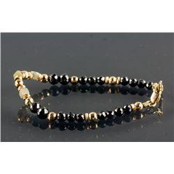 10.5ct Round & Square Cut Diamonds Bracelet