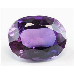 10.35ct Oval Cut Purple-Blue Alexandrite GGL