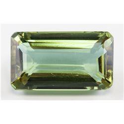 40.20ct Emerald Cut Brown-Purple Alexandrite Gem