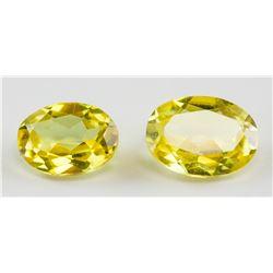 2.50ct Oval Cut Yellow Sapphire Gem GGL COA