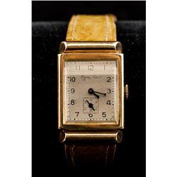 Mathey-Tissot Swiss 18K Yellow Gold Men's Watch