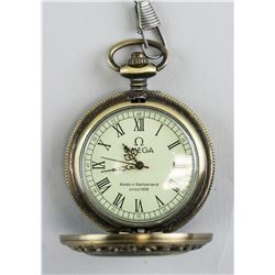European Pocket Watch OMEGA Mark