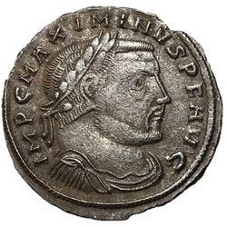 Maximinus II 309-313 AD Follis of Thessalonica