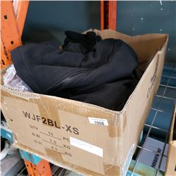 BOX OF NEW CONDOR X-SMALL FLEECE JACKETS