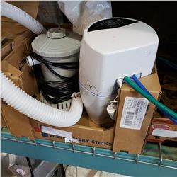 ESPRING WATER FILTER NEEDS REPLACEMENT FILTER AND POOL PUMP