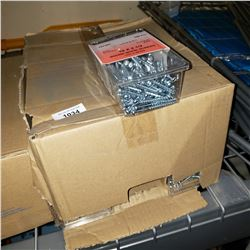 CASE OF 10X 2 1/2 INCH WOOD SCREWS
