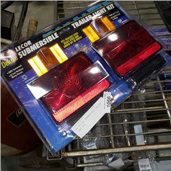 NEW DELUXE SUBMERSIBLE TRAILER LIGHT KIT