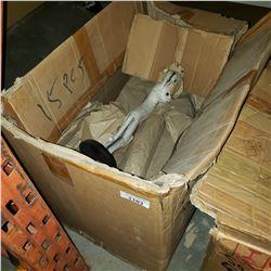 BOX OF NEW WOOD FIGURES