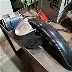 HARLEY DAVIDSON MOTORCYCLE PARTS AND ELECTRIC MOTOR