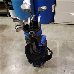 GOLF BAG W/ AEROMAX CLUBS