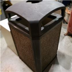 LARGE OUTDOOR WASTE BIN