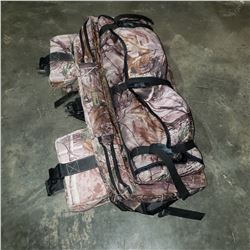 CAMOFLOUGE FRONT RACK QUAD STORAGE BAG
