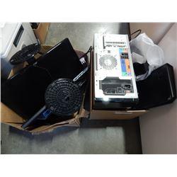 ACER ASPIRE M5400 DESKTOP W/ RACER BLACK WIDOW ULTIMATE KEYBOARD AND BLACK ADDER MOUSE