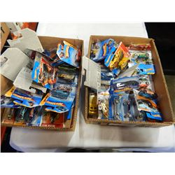 2 TRAYS OF NEW HOTWHEEL CARS
