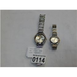 TWO LADIES ANNE KLEIN WATCHES LOST PROPERTY