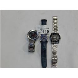 THREE LOST PROPERTY WATCHES LOIS CARON AND FAST TRACK AND RADA