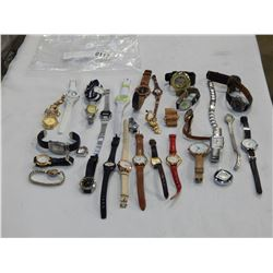 LARGE BAG OF LOST PROPERTY LADIES WATCHES