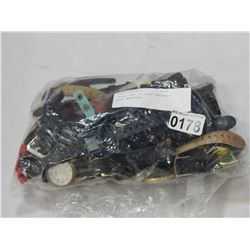 LARGE BAG OF LOST PROPERTY MENS WATCHES