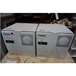 2 IKEA FADO LIGHTS