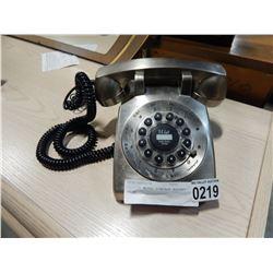 CROSLEY METAL VINTAGE ROTARY PHONE