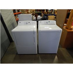 WHITE KENMORE ELITE OASIS HE TOPLOAD WSHER AND OASIS SUPER CAPACITY FRONT LOAD DRIER - TESTED AND WO