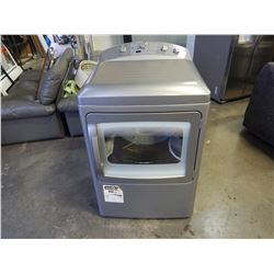 GREY GE PROFILE COMMERCIAL QUALITY FRONT LOAD DRIER - TESTED AND WORKING