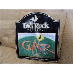BIG ROCK BREWERY TIN SIGN