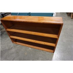 2-1/2 FOOT TALL 4FT WIDE BOOKSHELF