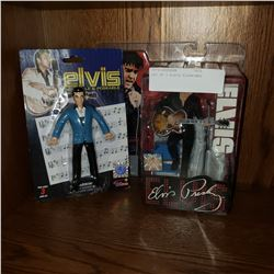 LOT OF 2 ELVIS FIGURINES