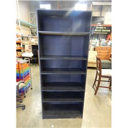 6FT ESPRESSO IKEA BOOKSHELF