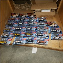 BOX OF NEW SPEED RACER HOT WHEELS CARS