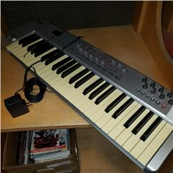 OXYGEN 49 M-AUDIO ELECTRIC KEYBOARD - WORKING