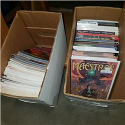 2 BOXES OF COMICS