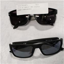 PAIR OF OAKLEY AND FOSTER GRANT SUNGLASSES