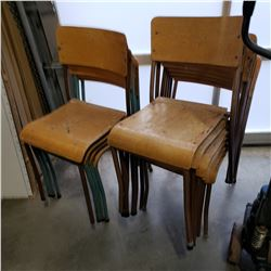 LOT OF STACKING CHAIRS