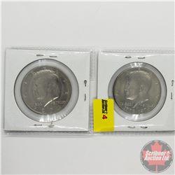 USA Half Dollars (2): 1971 & 1976