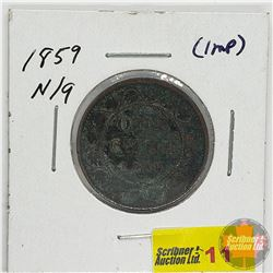 Canada Large Cent: 1859 N9