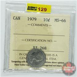Canada Ten Cent : 1979 (ICCS Cert MS-66)