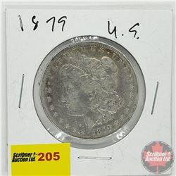 US Morgan Dollar 1879S