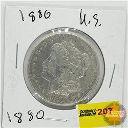 US Morgan Dollar 1880