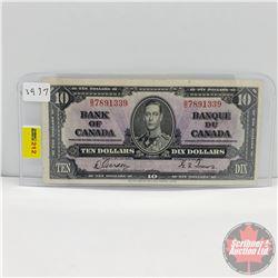 Canada $10 Bill 1937 (Gordon/Towers B/D7891339)