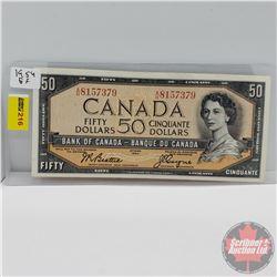 Canada $50 Bill 1954 (Beattie/Coyne A/H8157379)
