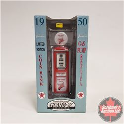 "Replica Toy Gas Pump ""Texaco"""