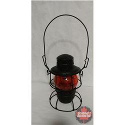 CNR Switchmen Lanterns (3) Red & Amber & Blue Globes