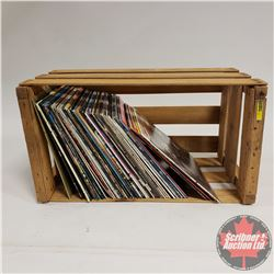 ALBUMS (47) : in a Melons Wood Crate ~ LARGE VARIETY