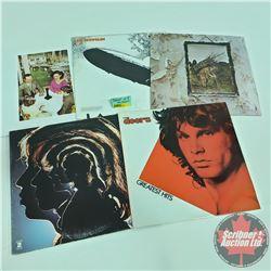 ALBUMS (5) : Doors, Rolling Stones, Led Zeplin (3)