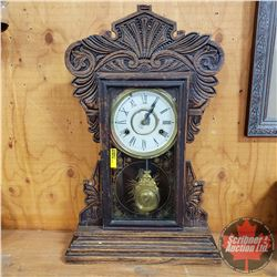 "Gingerbread Clock (22"" H)"
