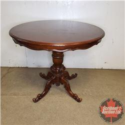 """Round Pedestal Table (32""""H x 39"""" Dia)"""
