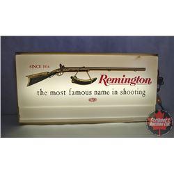 """Remington Guns Dealer Lighted Sign (24"""" x 12"""")"""